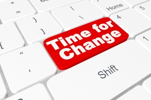 """Button """"Time for Change"""" on keyboard"""