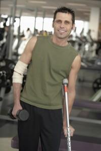 Injured Athlete