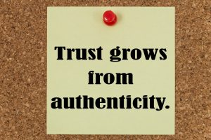 great business relationships are based on trust